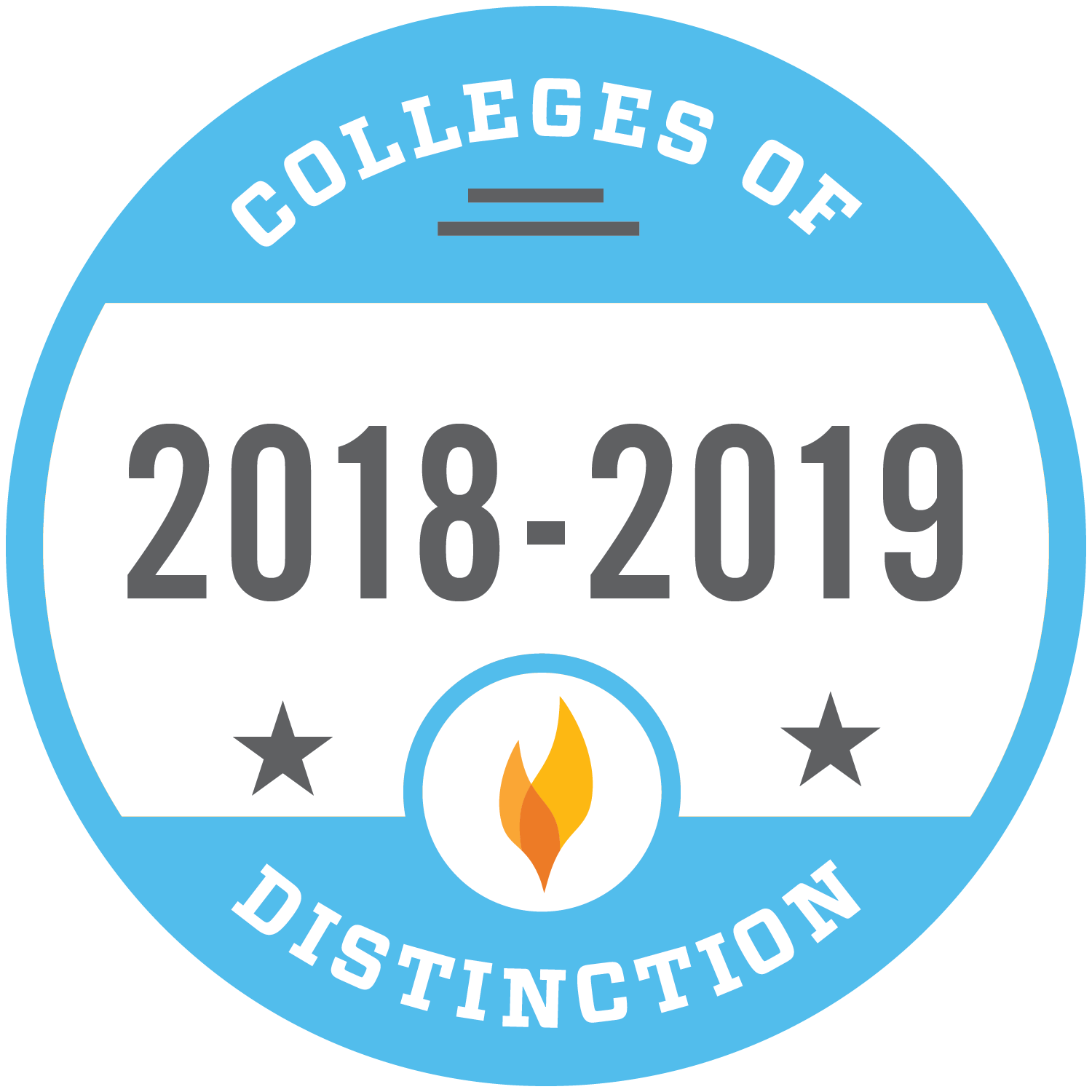 2018-2019 College of Distinction